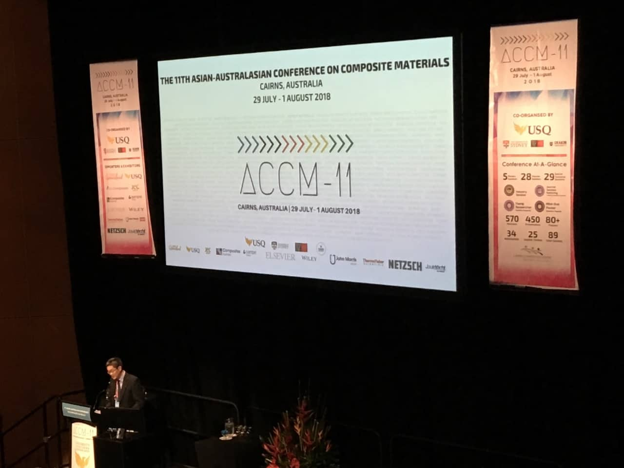 ACCM-11: NETZSCH supports conference in Cairns