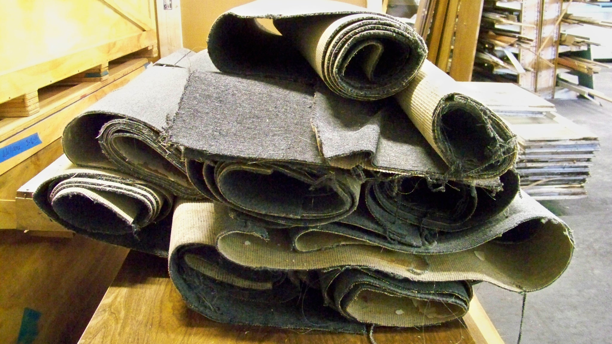 Recycling Carpets Turns into a Raw Material Opportunity