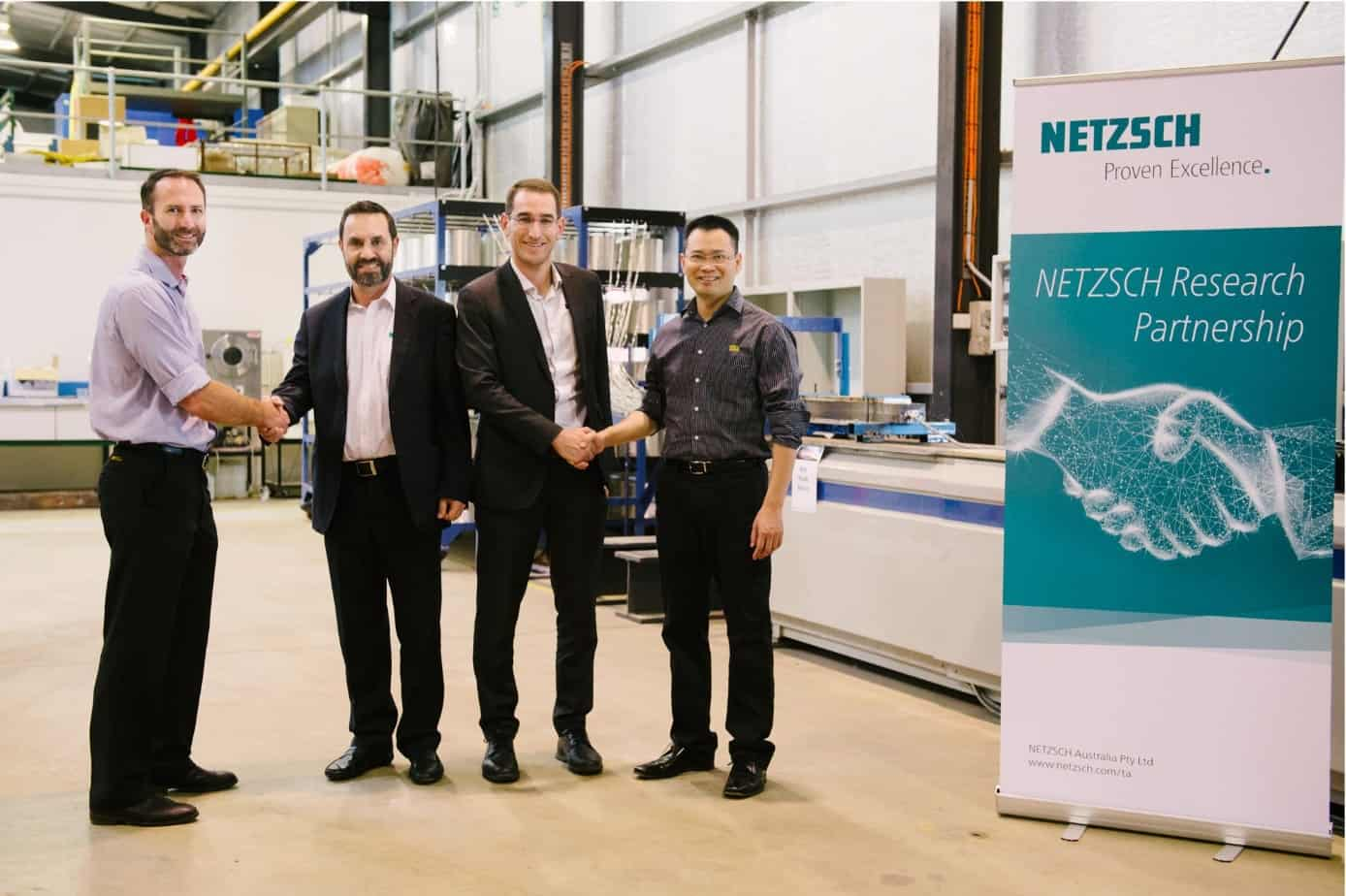 NETZSCH and USQ join in research partnership to advance automated composite manufacturing