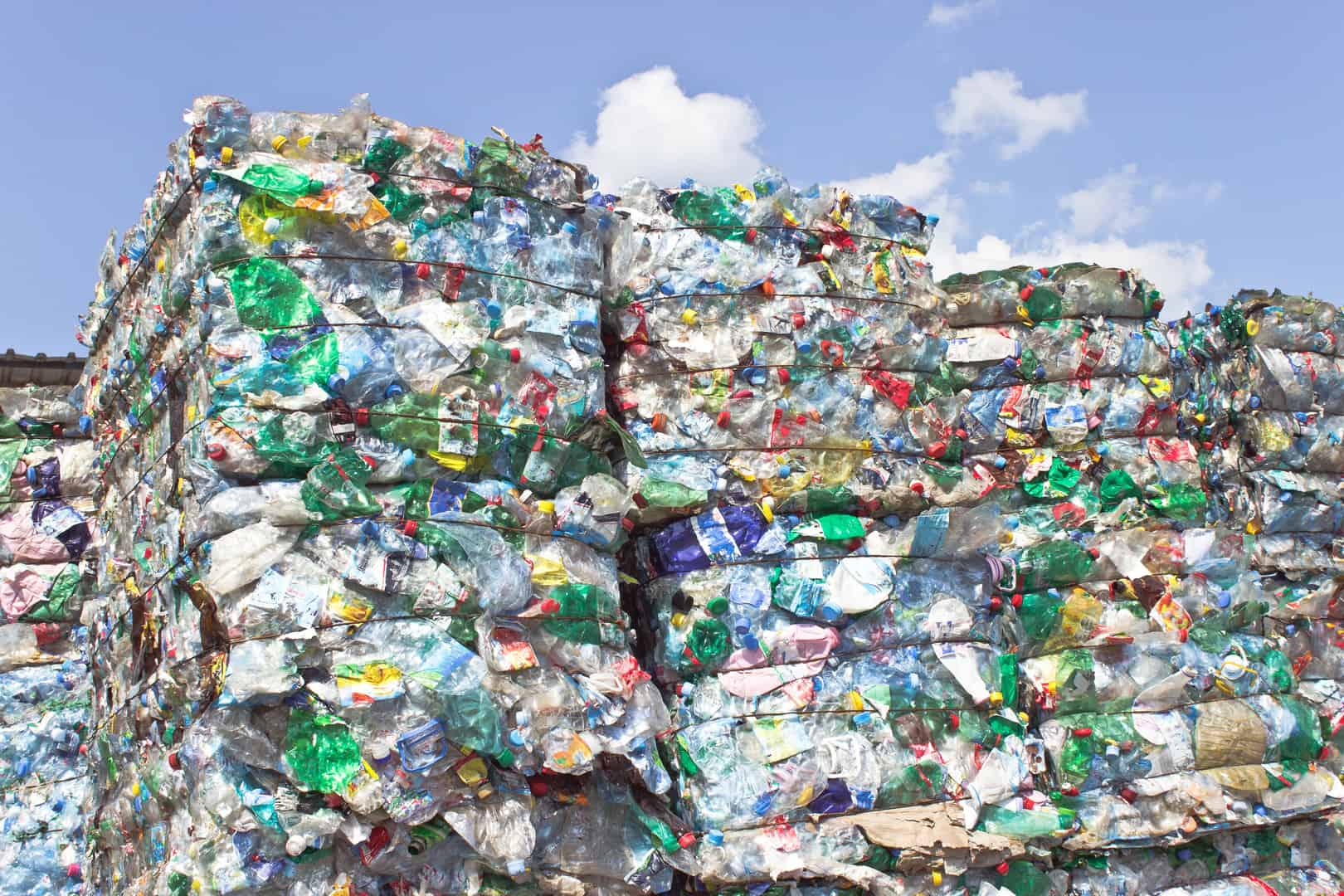 Plastics waste for reycling