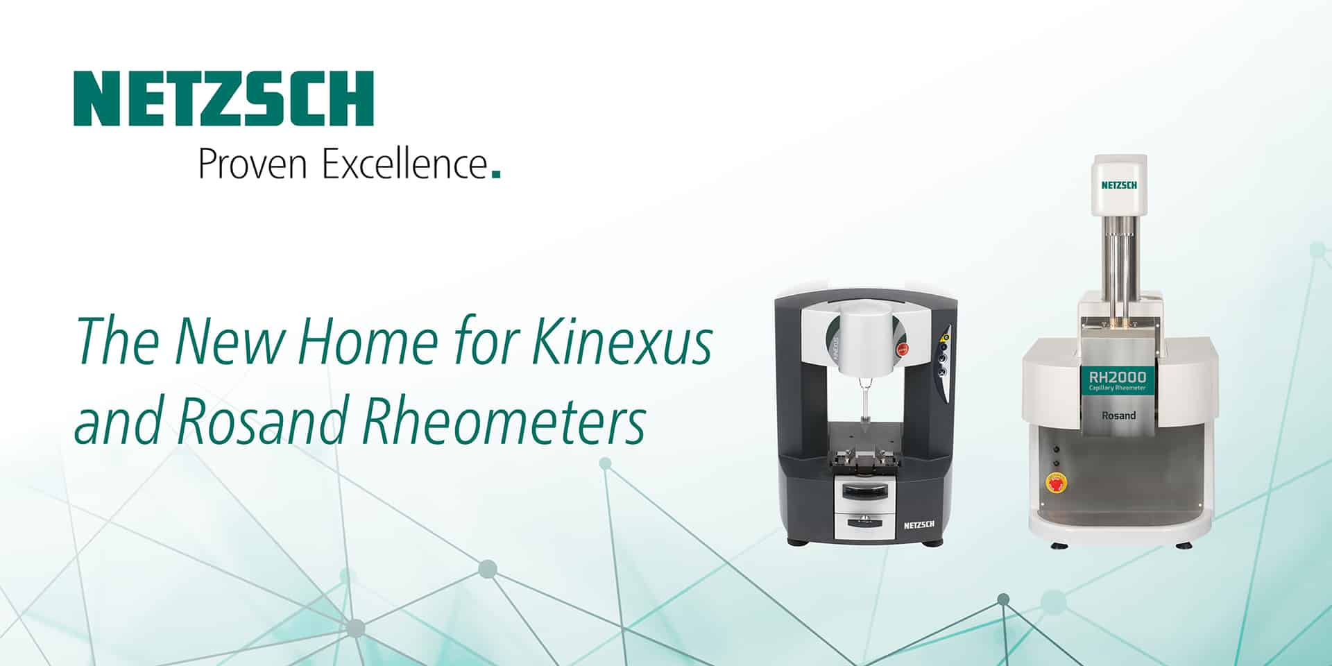The New Home for Kinexus and Rosand Rheometers